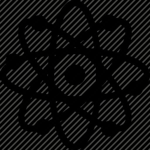 Atom, atomic, electron, molecular, science icon - Download on Iconfinder