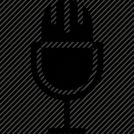 loud, mic, microphone, recording mic, retro mic icon