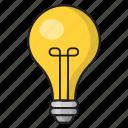 light, bulb, lamp, solution, idea