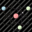neutron, electrons, cells, molecule, science