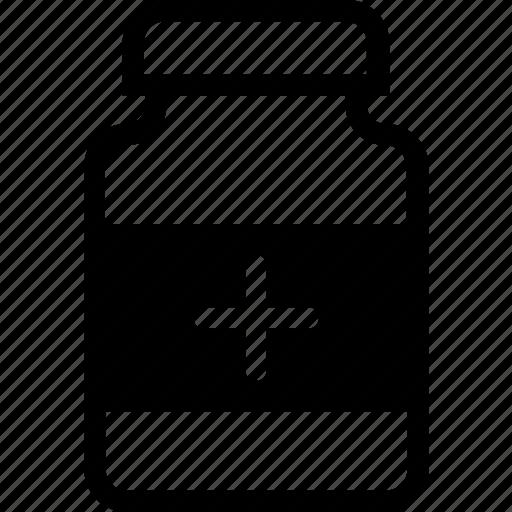 medical, medicine, medicine jar, pharmacy, syrup icon