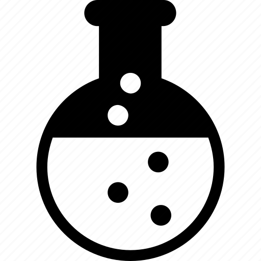 conical flask, experiment, flask, lab, science icon