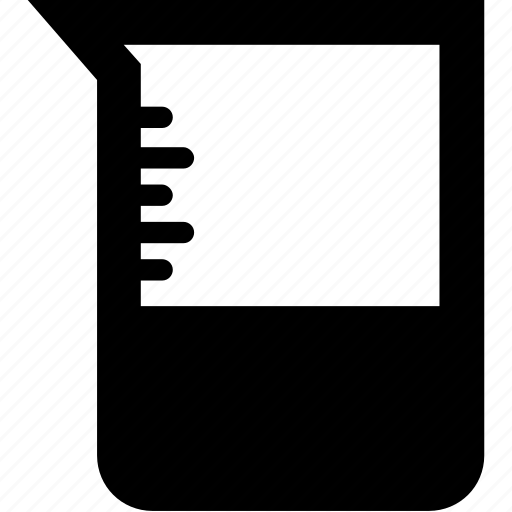 beaker, ewer, experiment, flask, measuring icon