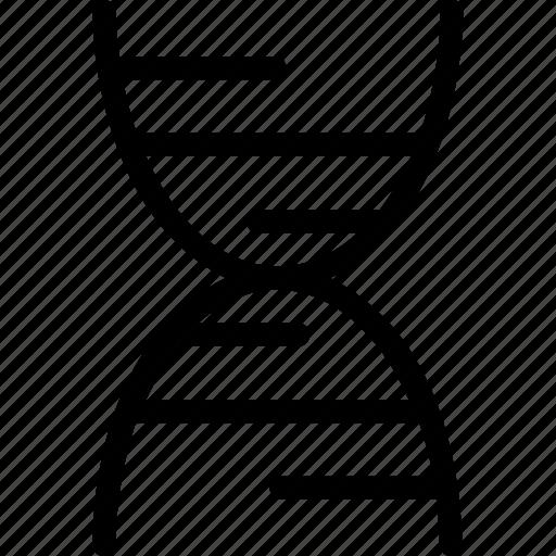 dna, dna chain, dna helix, dna strand, genetics icon