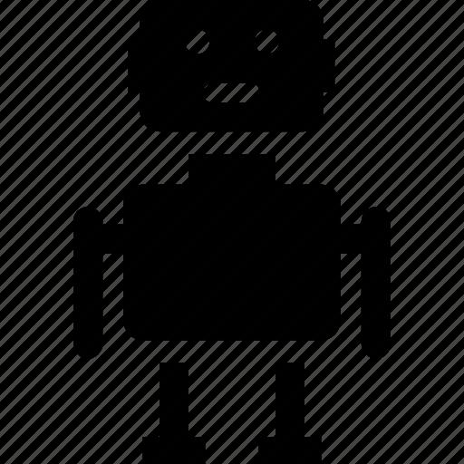 Automaton, bionic, machine, robot, robotic icon - Download on Iconfinder