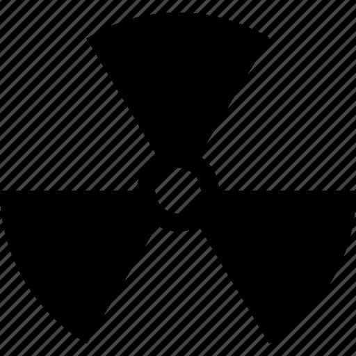 danger, hazard, nuclear, radiation, toxic icon