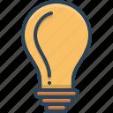 bulb, energy, lamp, light icon