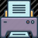 copier, print, printer, printing, technology icon