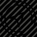 arrow, cursor, gps, compass