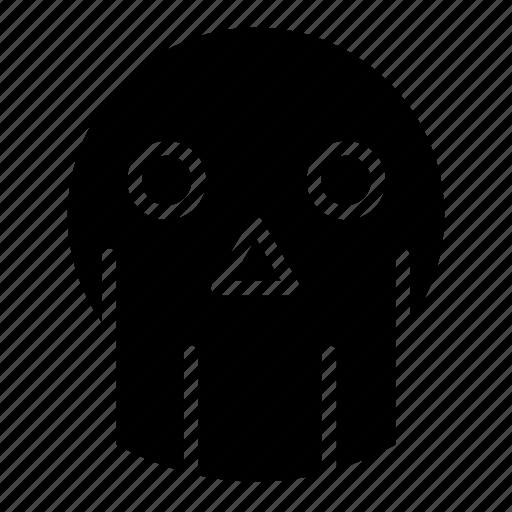 dead, evil, halloween, monster, skull icon