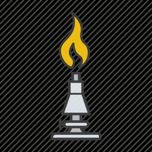 bunser, burn, burner, fire, flame, gas-burner icon