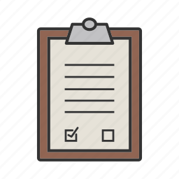 document, notes, prescript, records, report, test, writing icon