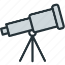 observation, science, space, telescope, tools
