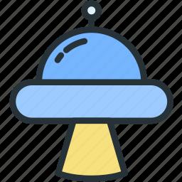alien, science, transport, ufo icon