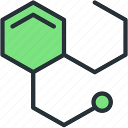 biology, hex, hexagon, science icon
