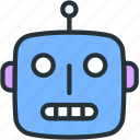 character, robot, robots, science, technology, toy icon