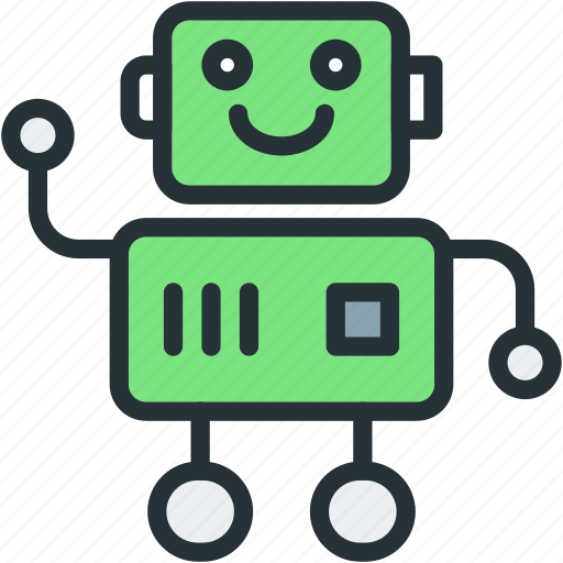 robot, science, technology, toy icon