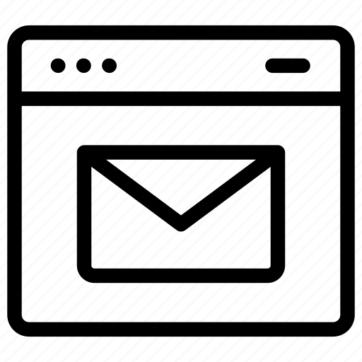 message envelope, web communication, web mail, web sms, website message icon