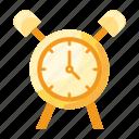 alarm, education, knowledge, laboratory, research, science icon