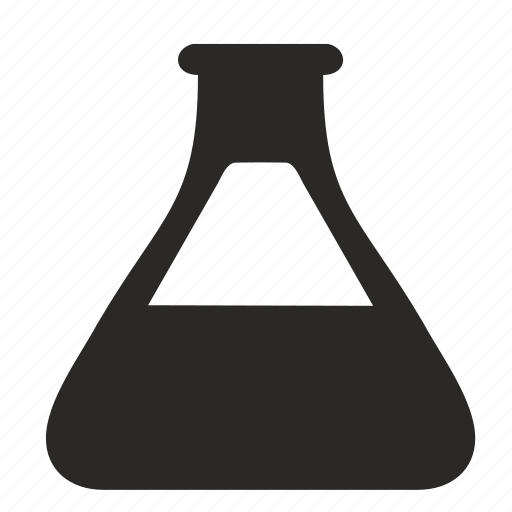 bulb, chemistry, fluid, form, science icon