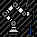robot, robotics icon
