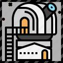 astronomy, observatory, telescope icon