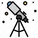 observation, space, telescope icon