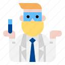 chemical, laboratory, scientist icon