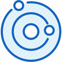 astronomy, galaxy, planet, science, space icon