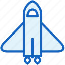 rocketship, science, space, spaceship icon