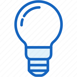 bulb, idea, science icon