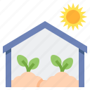 greenhouse, agriculture, farming