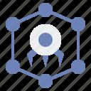 nanotechnology, nanobot, nanotech icon
