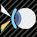 eye, optics, optometry icon
