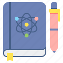 journal, science, book icon