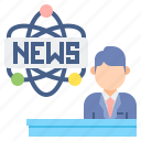 news, science, innovation icon