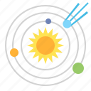 solar, system, planets icon