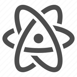atom, molecule, particle, research, science icon