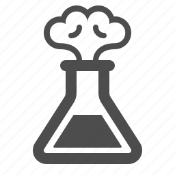 experiment, explosion, lab, laboratory, science, smoke, test tube icon
