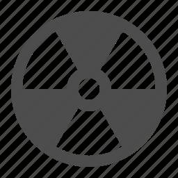 biohazard, danger, hazard, nuclear, radiation, sign, toxic icon