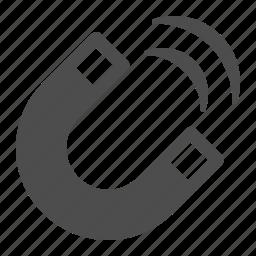 horse shoe, horseshoe, magnet, science icon
