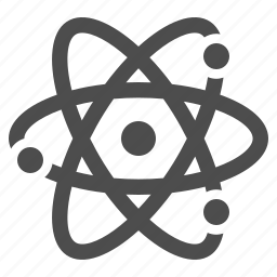 atom, experiment, molecule, particle, research, science icon