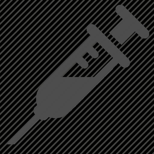 health, healthcare, injection, medicine, syringe icon
