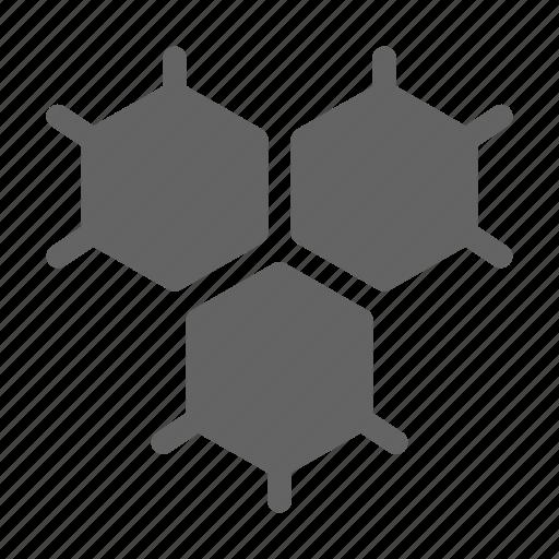 atom, biology, molecule, science icon
