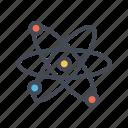 atom, science icon