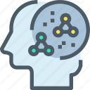 biology, education, head, mind, science, scientific, study icon