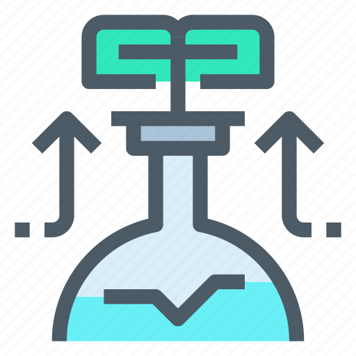 Chemistry, education, flasks, laboratory, science icon - Download on Iconfinder