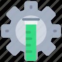 laboratory, process, science, scientific, test, tube icon
