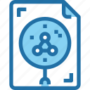 biology, document, file, science, scientific, study icon