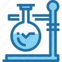 chemistry, education, flask, laboratory, science icon